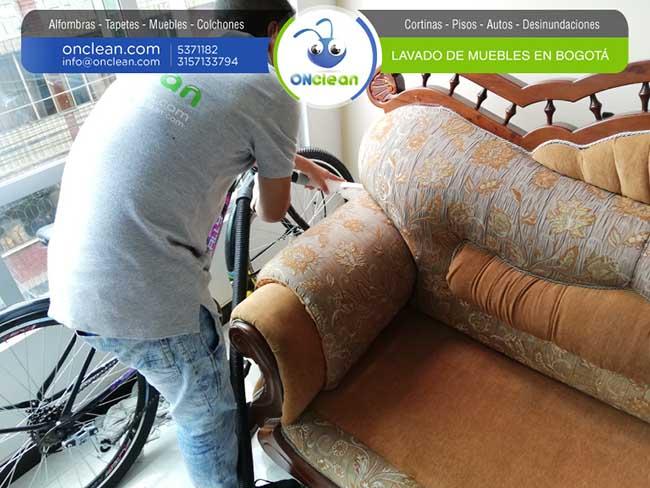 Lavado y limpieza de muebles en bogot 5371182 for Limpieza de muebles